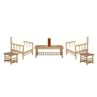 Bamboo54 6 Piece Coffee Table Set