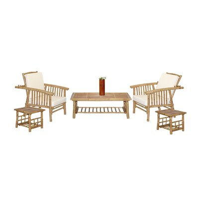Bamboo54 Mikong 6 Piece Coffee Table Set