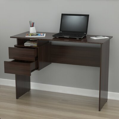 Inval Writing Desk with 2 Drawers
