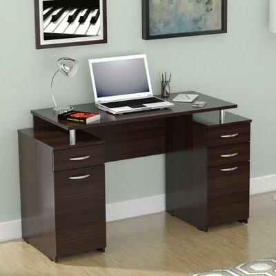 Inval Double Pedestal Computer Desk