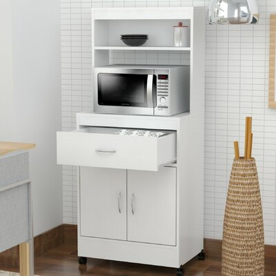 Inval Microwave Cart