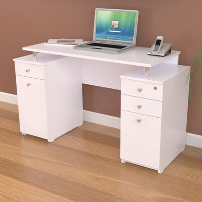 Inval Laura Computer Desk with Accessory ..