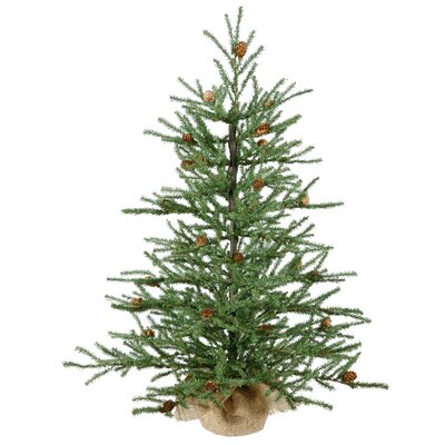 the holiday aisle 3 pine tree artificial christmas tree reviews wayfair - White Pine Christmas Tree