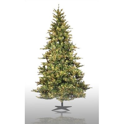 High Quality Vickerman Country Pine 9u0027 Green Slim Pine Artificial Christmas Tree With  950 Pre Lit Clear Lights With Stand U0026 Reviews | Wayfair