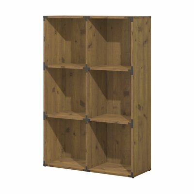 Kathy Ireland Office by Bush Ironworks Cube Unit Bookcase