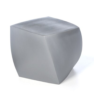 Heller Frank Gehry Right Twist Cube Ottoman