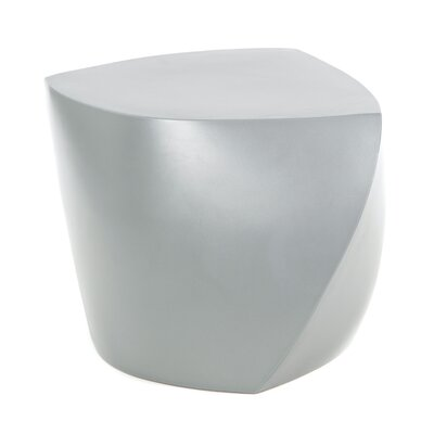 Heller Frank Gehry Three Sided Cube Ottoman Image
