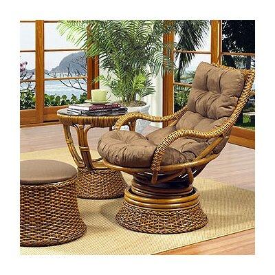 Boca Rattan Biscayne Woven Rattan Chair