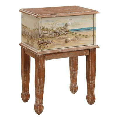 Gail's Accents Shoreline End Table