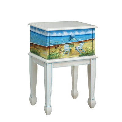Gail's Accents Shoreline Adirondack End Table