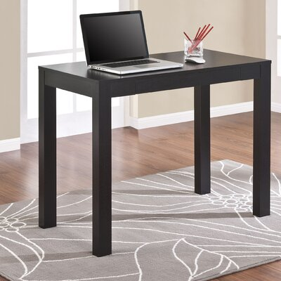 Varick Gallery Oday Writing Desk in Black Oak