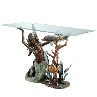 SPI Home Mermaid Console Table