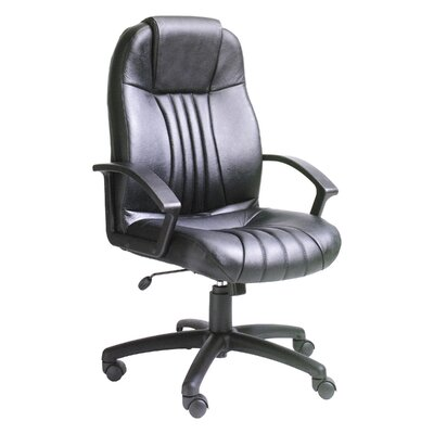 Boss Office Products Modern High-Back Lea..