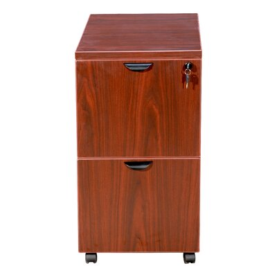Boss Office Products 2 Drawer Mobile Pedestal