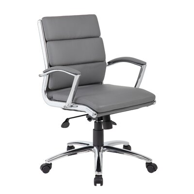 Wade Logan Ares Executive Caressoft Plus™ Mid-Back Desk Chair