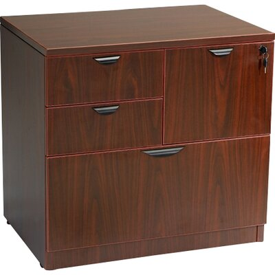 Boss Office Products 4-Drawer Combo  F..