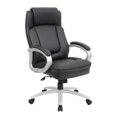 Latitude Run Mable High-Back Leather Executive Chair