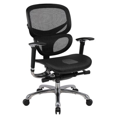 Boss Office Products Mid-Back Mesh Caress..