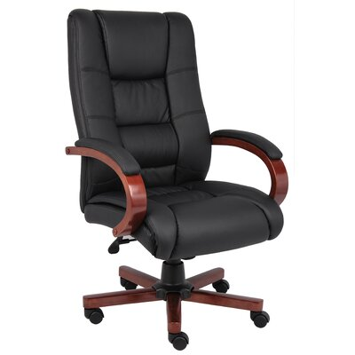 Boss Office Products High Back Executive ..