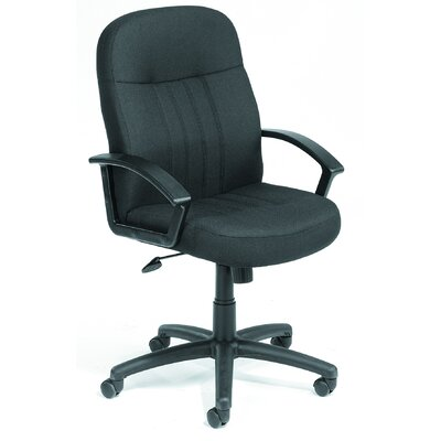 Boss Office Products Mid-Back Fabric Conference Chair