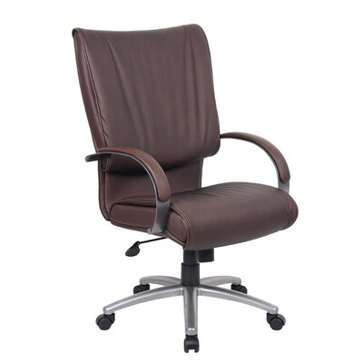Boss Office Products High-Back Leather Ex..