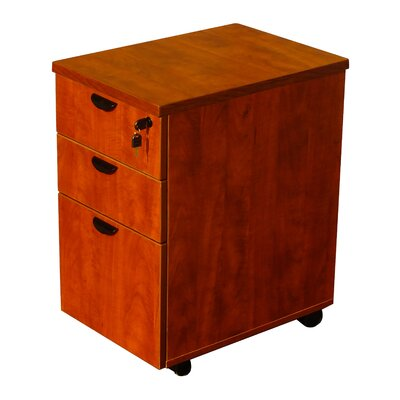 Boss Office Products 3 Drawer Mobile Pedestal Box Image