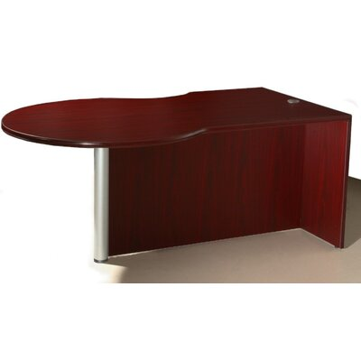 Boss Office Products P-Desk Shell