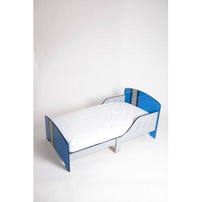P'kolino Classically Cool Racing Stripes Convertible Toddler Bed