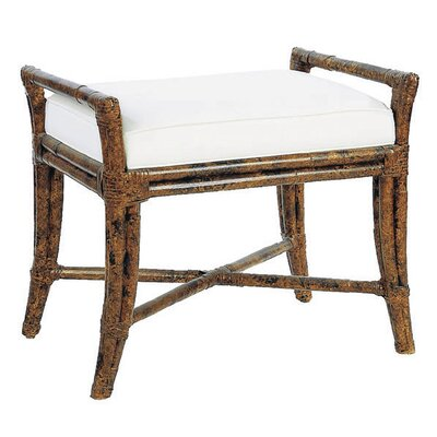 David Francis Furniture Malacca Rattan Bench