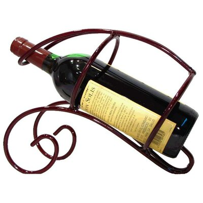 Metrotex Designs French Vineyard 1 Bottle Tabletop Wine Rack