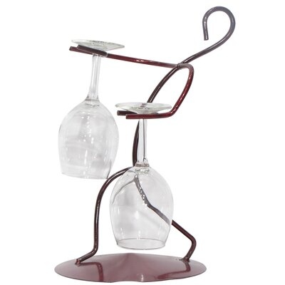 Metrotex Designs Tabletop Wine Glass Rack