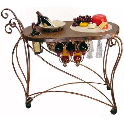 Metrotex Designs Bird of Paradise Serving Cart