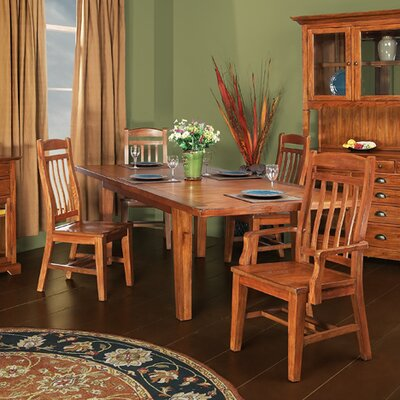 Mastercraft Collections Riverside Dining Table in Whiskey