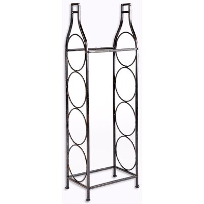 Home Essentials and Beyond 4 Bottle Floor Wine Rack