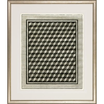 W King Ambler Inc Optical Illusion By Casanova Framed