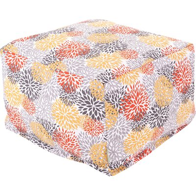 Majestic Home Goods Blooms Large Ottoman