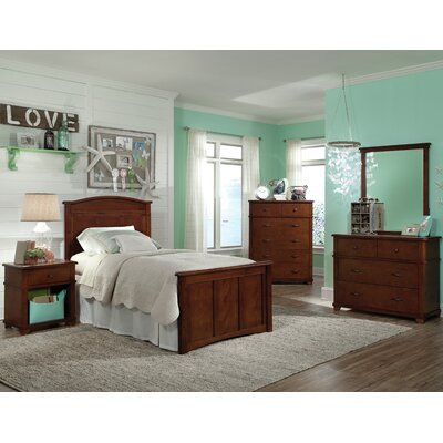 Bolton Furniture Woodridge Twin Storage Panel Customizable Bedroom Set