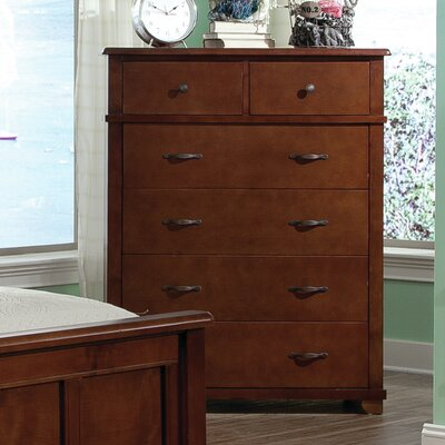 Bolton Furniture Woodridge 6 Drawer Solid Wood Chest