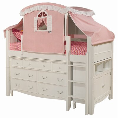 Bolton Furniture Emma Twin Loft Bed Customizable Bedroom Set