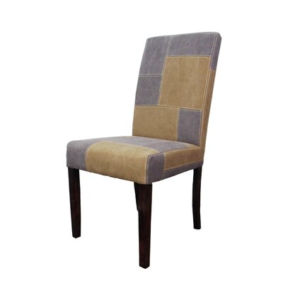 MOTI Furniture Linen Parsons Chair