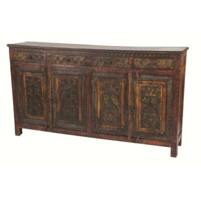 MOTI Furniture 4 Drawer Buffet