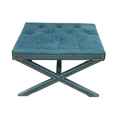 MOTI Furniture Upholstered Stool