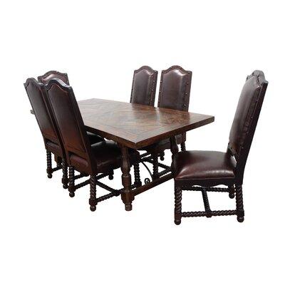 MOTI Furniture Burbank 7 Piece Dining Set