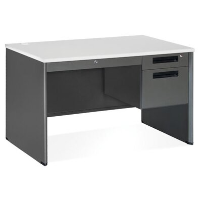 OFM Mesa Series Single Pedestal Computer Desk