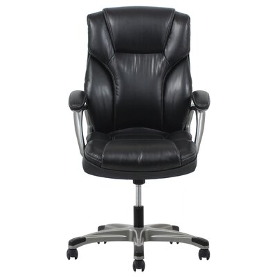 OFM Ergonomic High-Back Leather Executive Office Chair with Arms