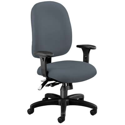 OFM Ergonomic Upholstered Multi-Adjustable ComfySeat Task Chair with Arms