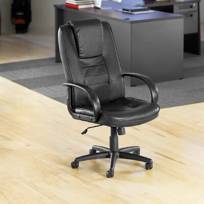 OFM High-Back Leather Promotional Executive Chair with Arms