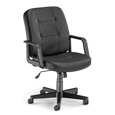 OFM Low-Back Leather Conference Chair ..