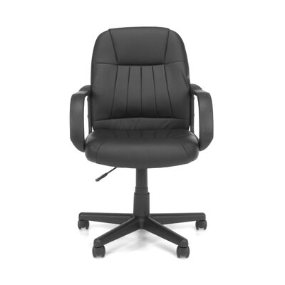 OFM Essentials Mid-Back Leather Executive Office Chair