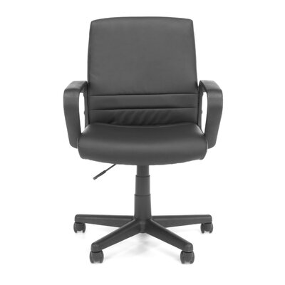 OFM Essentials Mid-Back Leather Executive..